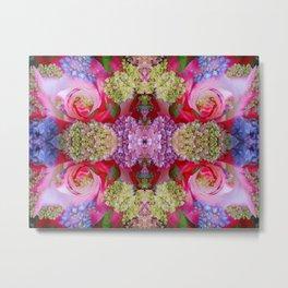 Flowerium geometry III Metal Print