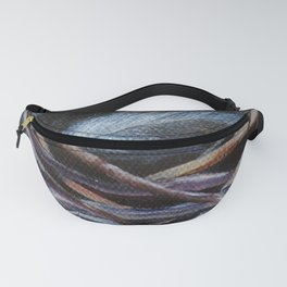 Left Behind Bird Nest Painting Fanny Pack