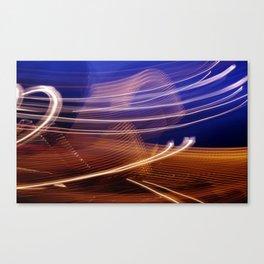Vapour Trails Canvas Print