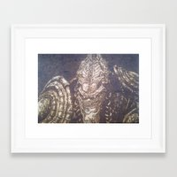 starcraft Framed Art Prints featuring En Taro Zeratul by artbyolev
