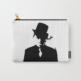 The Watcher Black/white Carry-All Pouch