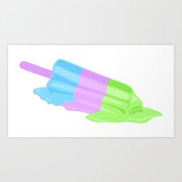 Neon Summer Art Print