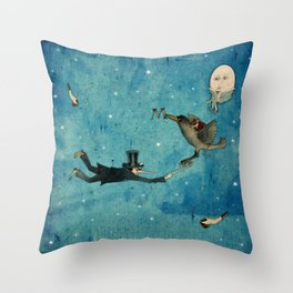 dream - the escape Throw Pillow