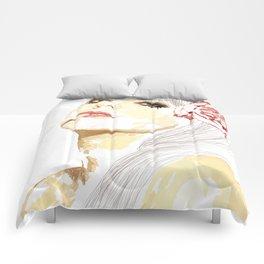 Out-Portrait Comforters