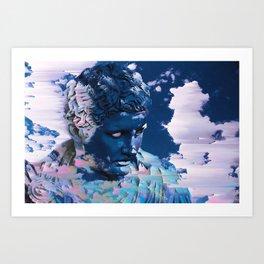 Sky Glare Art Print