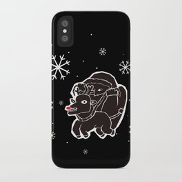 black christmas iPhone Case