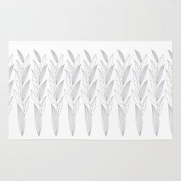 Eternity in Silver Leaf II Rug