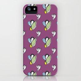 Purple Urple Print iPhone Case