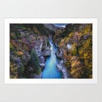 Shotover River Art Print