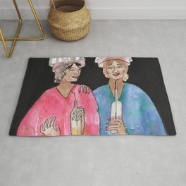 Sipping Salon Gossip Rug
