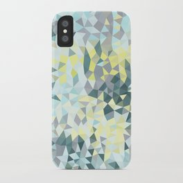 Spring Rain Tris iPhone Case