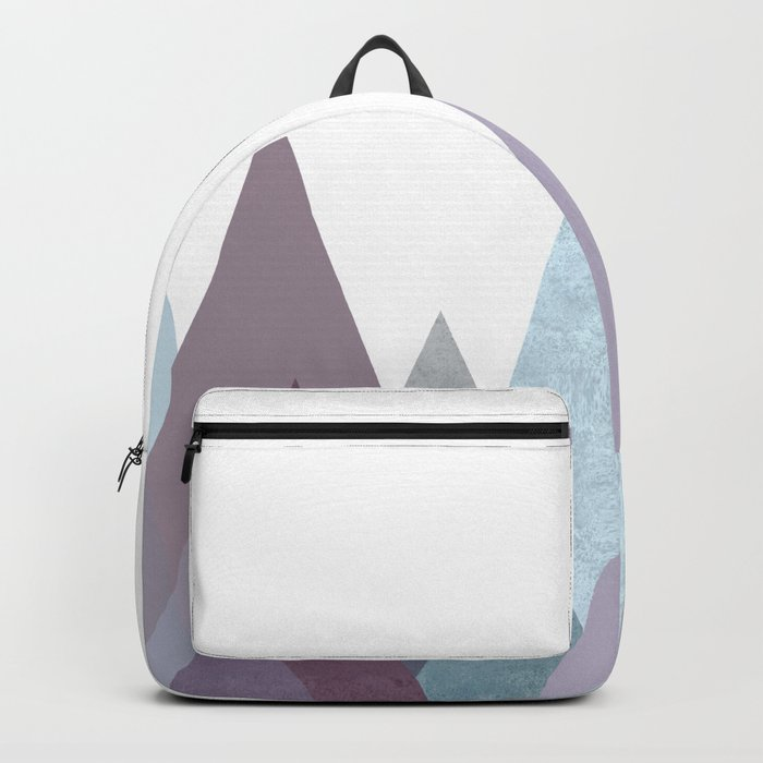PLUM TURQUOISE MOUNTAINS GEOMETRIC Backpack