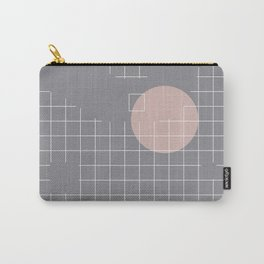 Neutral Gray #abstract #fall #color Carry-All Pouch
