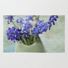 Grape Hyacinths Rug