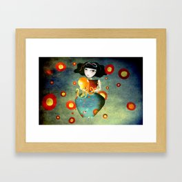 Hold on a little more Framed Art Print