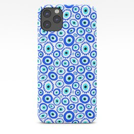 Evil Eye Mediterranean Lucky Symbol iPhone Case