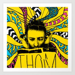 Thom Yorke Nightmare Art Print