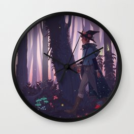 once in a blue moon Wall Clock