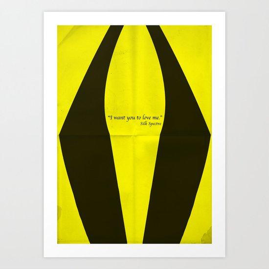 Silk Spectre Art Print