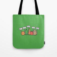 I hate vegans Tote Bag