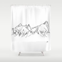 Spring Thaw Shower Curtain
