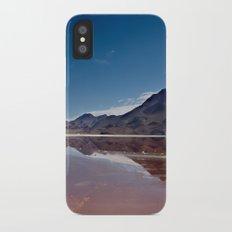 Natural mirror iPhone X Slim Case