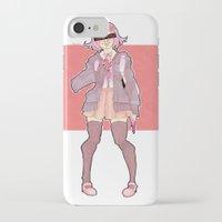 minaj iPhone & iPod Cases featuring Chiaki Minaj by milkystars
