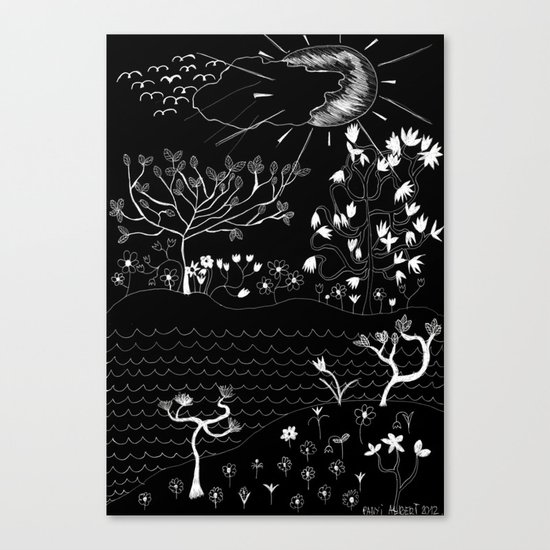 Perfect Imperfection (Inverted version) Canvas Print