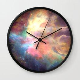Wild Wind Wall Clock