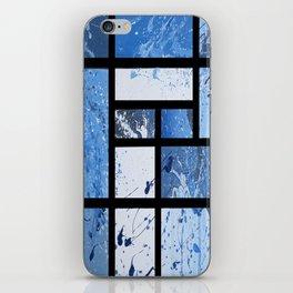 Movin with Pollock, Mondrian & Haring  iPhone Skin