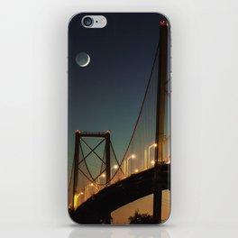New Moon Bridge iPhone Skin