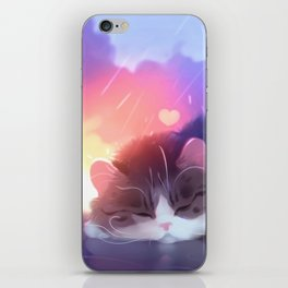 napping club iPhone Skin