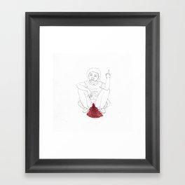period angst Framed Art Print