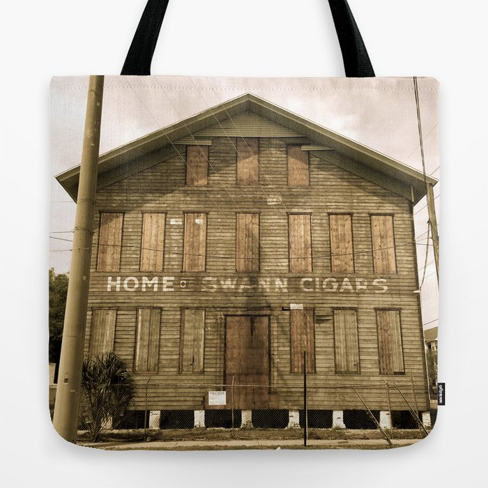 Historic Ybor Building Tote Bag