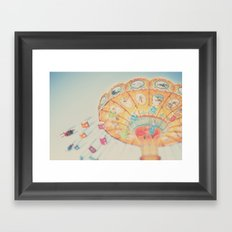 carnival swing II ... Framed Art Print