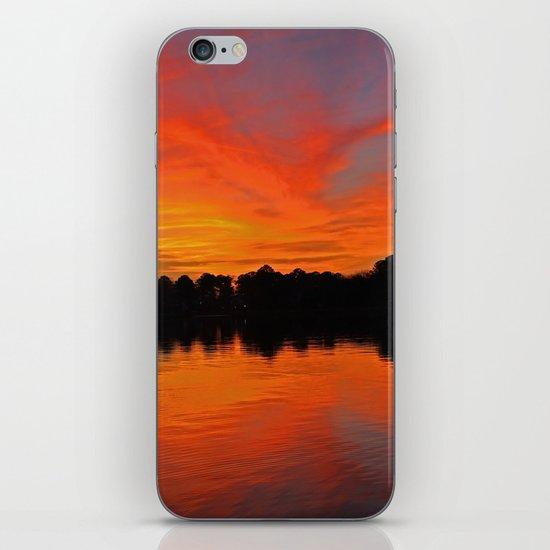 Lafayette River Sunset iPhone & iPod Skin