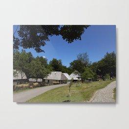 Ideal village Metal Print