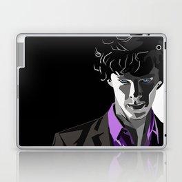 Sherlock Holmes Portrait Laptop & iPad Skin