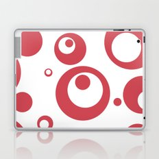 Circles Dots Bubbles :: Inverse Berry Blush Laptop & iPad Skin