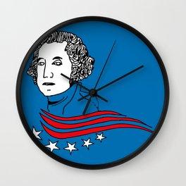President George Washington Wall Clock