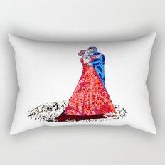 the Dancers Rectangular Pillow