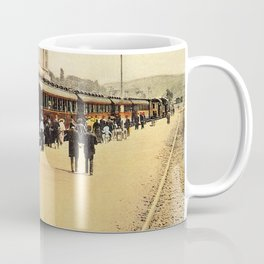 1900s Haydarpasa railroad station, train Coffee Mug