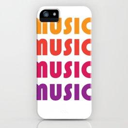Music In my mind iPhone Case