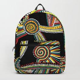Rasta Swirls Backpack