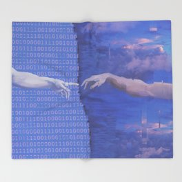 Ancient Technology Throw Blanket