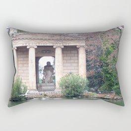 Reflection at Villa Borghese. Rectangular Pillow