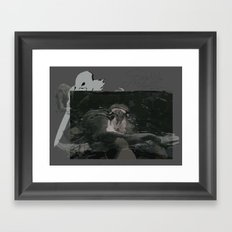 A Preview Framed Art Print