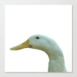 Just Ducky Vector Canvas Print