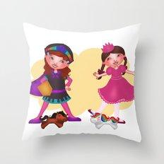 Pretend Play Throw Pillow