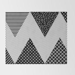 Neo Memphis Background 1 Throw Blanket